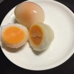 冷凍たまご。卵1個で目玉焼き2個できちゃう。