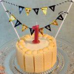 1歳の誕生日手作りケーキでお祝い〜